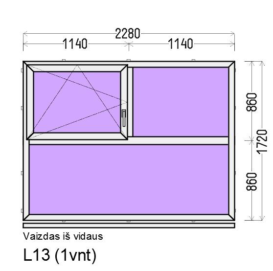 Prekė: Varstomi 3-4 dalių plastikiniai langai, Būklė: Montuotas, Kaina: 249 Eur