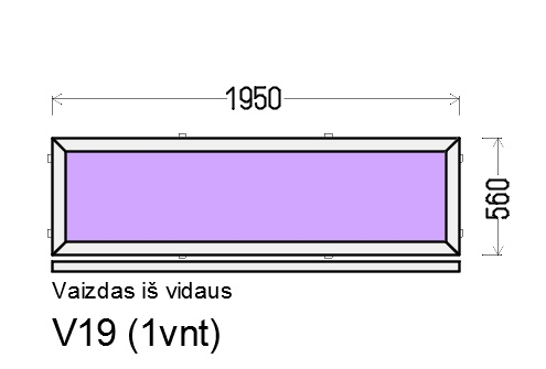 Prekė: Nevarstomi plastikiniai langai - vitrinos, Būklė: Naujas, Kaina: 95 Eur